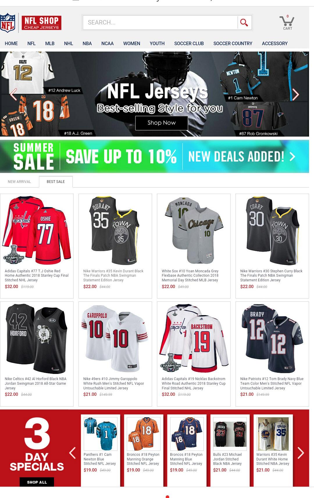 newest collection 7c29d b9273 Wholesale Jerseys - Best Online Jerseys Promotion Shop